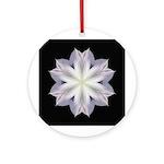Clematis I Ornament (Round)