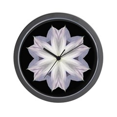 Clematis I Wall Clock