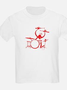 Drummer Kids T-Shirt