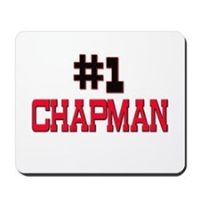 Number 1 CHAPMAN Mousepad