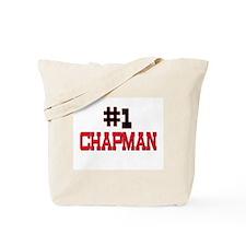 Number 1 CHAPMAN Tote Bag