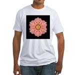 Hibiscus Rosa-sinensus I Fitted T-Shirt