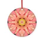 Hibiscus Rosa-sinensus I Ornament (Round)