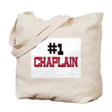 Number 1 CHAPLAIN Tote Bag