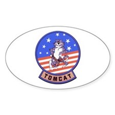 Tomcats Oval Decal