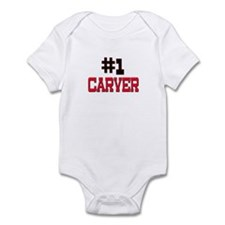 Number 1 CARVER Infant Bodysuit