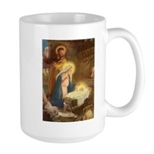Vintage Christmas Nativity Mug