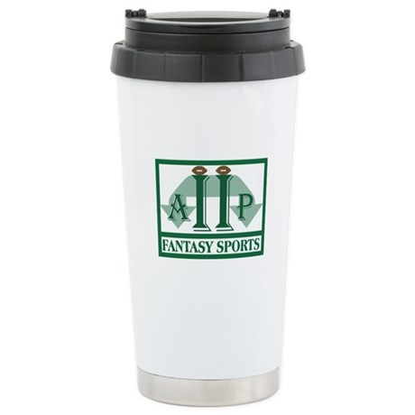 League Logo Stainless Steel Travel Mug