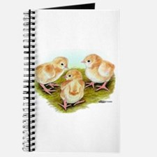 Cornish White-laced Red Chick Journal