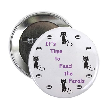 "Feral Time 2.25"" Button"