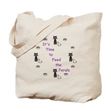 Feral Time Tote Bag