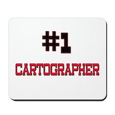 Number 1 CARTOGRAPHER Mousepad