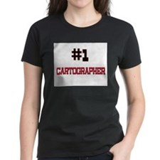 Number 1 CARTOGRAPHER Tee