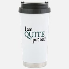 Jane Austen Put Out Stainless Steel Travel Mug