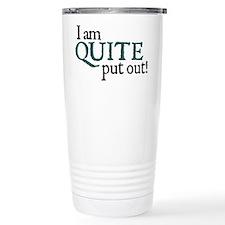 Jane Austen Put Out Thermos Mug