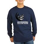 Moonsong Malamute Rescue Long Sleeve Dark T-Shirt