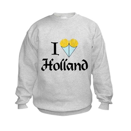 I Love Holland Kids Sweatshirt