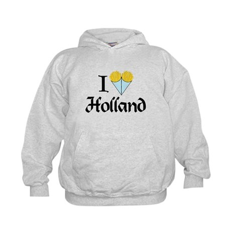 I Love Holland Kids Hoodie