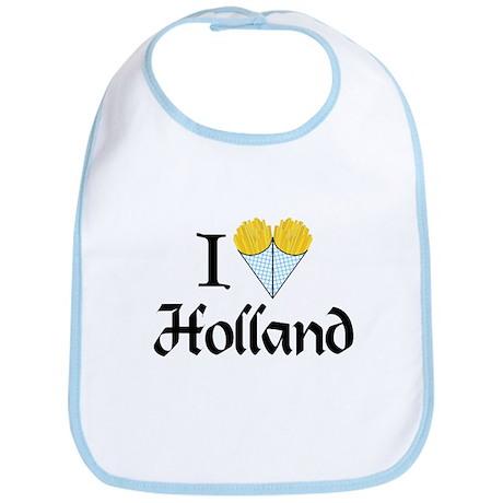 I Love Holland Bib