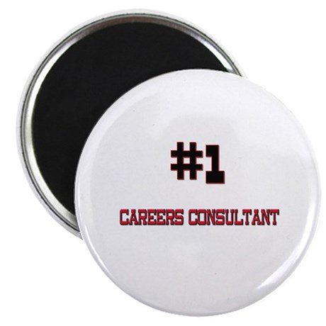"Number 1 CAREERS CONSULTANT 2.25"" Magnet (10 pack)"