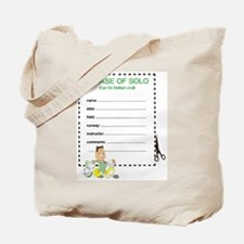 SOLO CERTIFICATE ? MIL Tote Bag