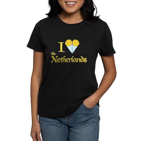 I Love NL Women's Dark T-Shirt