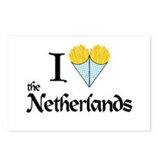 I Love NL Postcards (Package of 8)