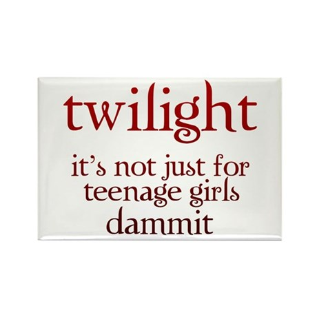 twilight, Not Just for Teenag Rectangle Magnet