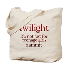 twilight, Not Just for Teenag Tote Bag