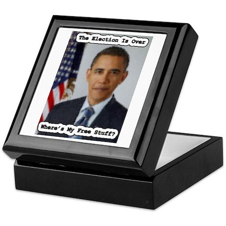 Barack Obama Free Stuff Keepsake Box