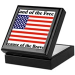 Land of the Free Keepsake Box