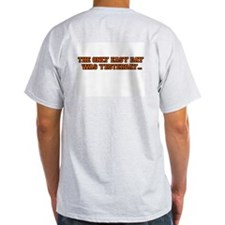 Burlington Demons #2 Ash Grey T-Shirt