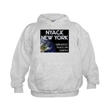 nyack new york - greatest place on earth Hoodie