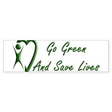 Go Green Bumper Bumper Sticker