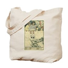 On The Garden Wall Tote Bag