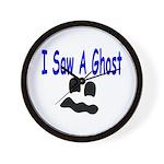 I Saw A Ghost Wall Clock