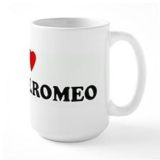 I Love SIZE ONE.ROMEO Mug