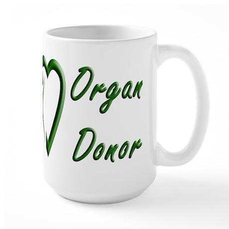 Organ Donor Large Mug