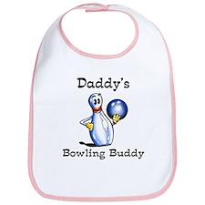 Daddy's Bowling Buddy Bib