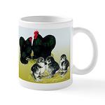 Black Cochin Family Mug