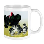 Black Cochin Family Mug