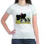 Black Cochin Family Jr. Ringer T-Shirt