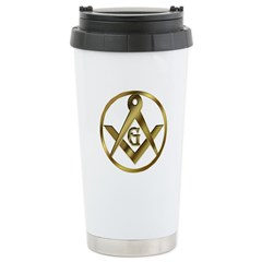 The Masonic Circle Travel Mug
