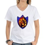 Liberty Endures Women's V-Neck T-Shirt