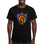 Liberty Endures Men's Fitted T-Shirt (dark)