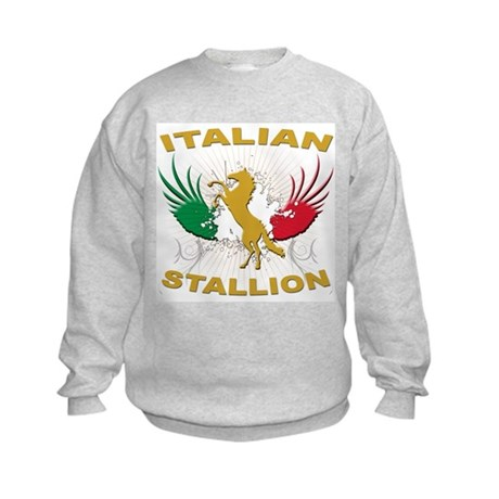 Italian Stallion Kids Sweatshirt