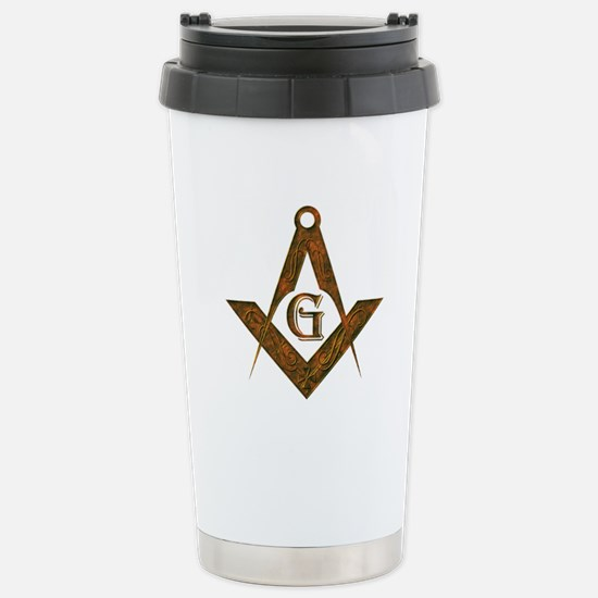 Antient Freemasons Stainless Steel Travel Mug