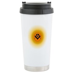 Masonic Starburst Travel Mug