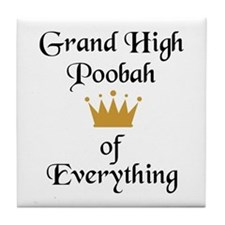 Grand High Poobah Tile Coaster