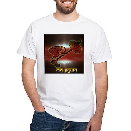 Jai Hanuman White T-Shirt